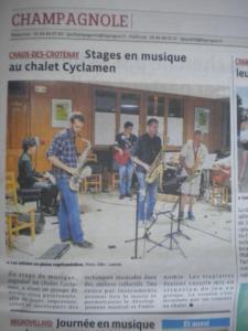 10 - stage musique Jazzonthepark