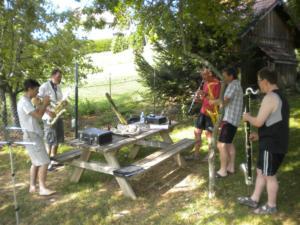 15 - stage musique Jazzonthepark